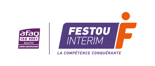 Logo Festou Intérim - La compétence conquérante