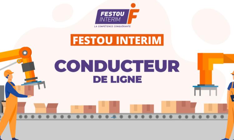 CONDUCTEUR DE LIGNE FESTOU INTERIM