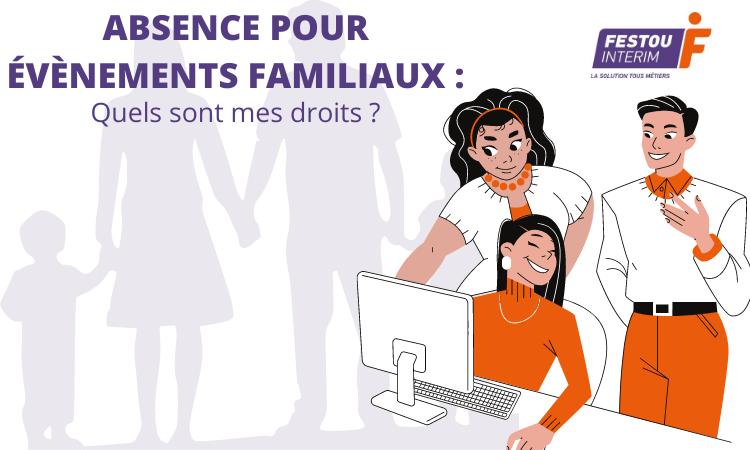 EVENEMENTS FAMILIAUX